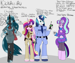 KickAss AU Extra characters ref by ReneesDetermination