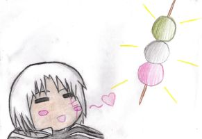 Dango For Allen-Chan by TheGirlWhoDid