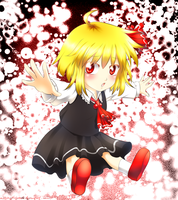 Rumia from Touhou by WitchOfStories