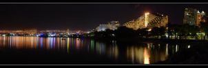 Night at the Eilat by joffo1