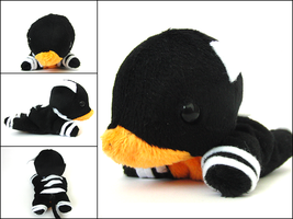 Houndoom Plushie by CraftKiwi