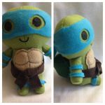 Leonardo TMNT Plush | Gift by LeslysPlushes
