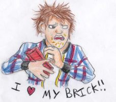I Love My Brick by Novum-Semita