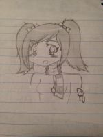 Pigtail Girl by Bramblepelt34