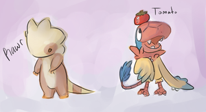 Tomato and Adel xD by Yo-Angie