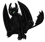 Toothless by Roguelucifer