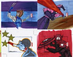 marvel Universe sketch cards8 by TomKellyART