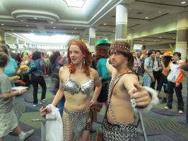 Conan and Red Sonja by Praxiusalternate