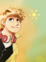 Hideyoshi Nagachika by nightlocksmoothie