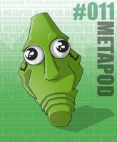Pokemon: 011 Metapod by Xxid