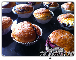 cupcakes - blueberry jelly'1 by angelicetherreality