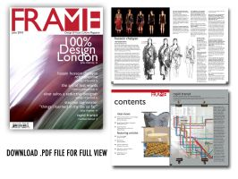 Frame Mag. Editorial Design by batucy