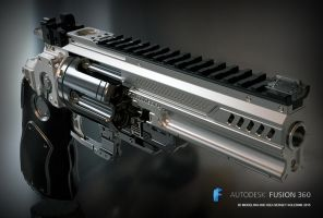 Konstantin heavy revolver by ksn-art