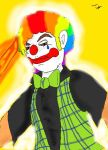 Shirraco the lazer clown by SaintsSister47
