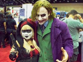 Megacon 2011: Harley and Joker by OhSweetSerenity71892