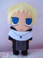 Soul Eater Justin Law plushie by VioletLunchell