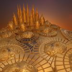 Golden City by Aexion