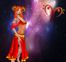 Aries...Zodiacal sign... by LadyLosna