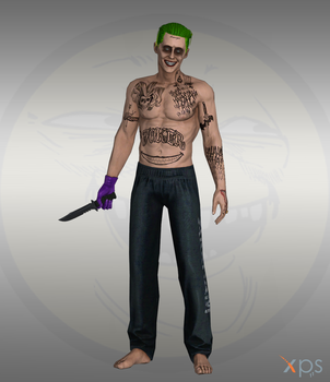 Injustice IOS - Joker Maniac suicide squad by Bringess