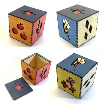 My Little Pony Cutie Mark box by Athey