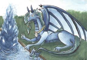 Dragon of Water by SS-Chan