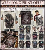 PRINT OFFER IN MY ONLINE STORE NOW! by Lovell-Art