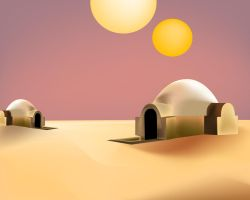 tatooine by arturog