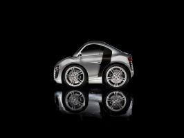 Mini Audi R8 by hamsher