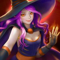 Witch by chalii