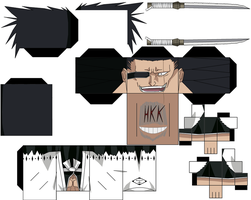 Kenpachi Zaraki by hollowkingking