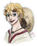 Finnian for my little sister by Armadria