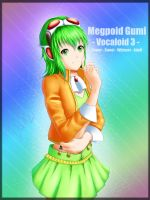 Megpoid Gumi Vocaloid 3 by Juh-Juh