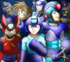 The Megamen by MrMegaMattX