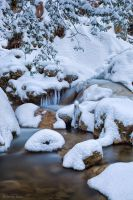 Winter Creek by AndreasResch