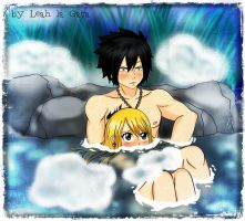 GrayLu ***Hot springs*** by Leah-la-Gata
