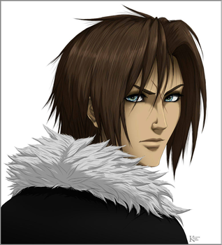 FF8 - Squall by kaiverta