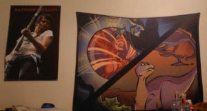 Land Before Time/Secret of Nimh Blanket by TheSpyWhoLuvedMe