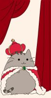 :Gift: King Pusheen by pansy88