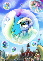 Bubbles Print by AnotherAverageArtist