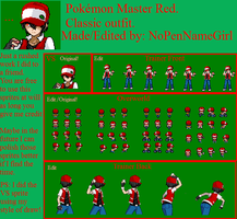 *Request* Classic Pokemon Master Red. by NoPenNameGirl