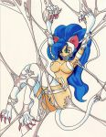 Felicia caught in Spiderwebs by Momo-the-Bunny