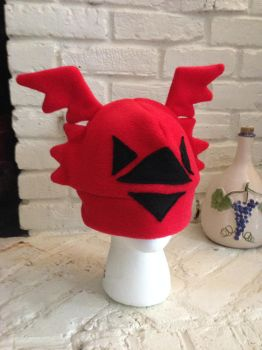 Digimon: Guilmon Fleece Hat by GolemGeekery