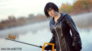Xion Cosplay by smilesarebetter