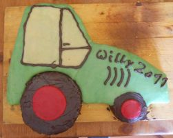 Tractor-cake by skyfirehead