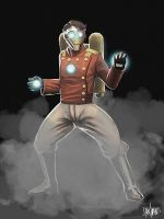 Steampunk Ironman by FaceGrater