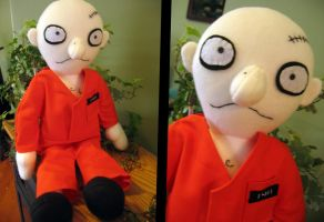 Prisoner custom plushie by greenchylde