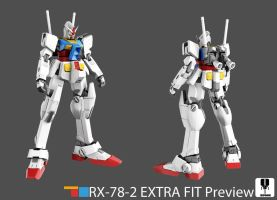 Gundam Rx-78-2 Extra fit Ver (Preview) by zipbox