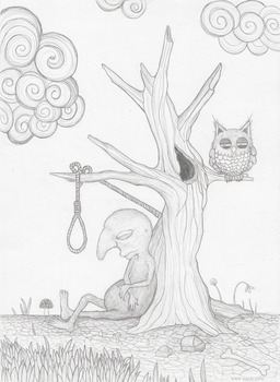 The Hanged Man by rubbe