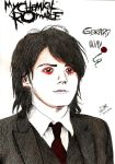 MCR Gerard Way portrait by Me by MiniAliceSuperstar