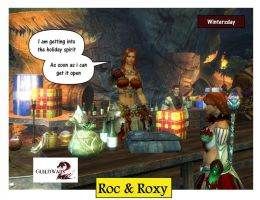 Guild Wars 2 RnR Roc and Roxy Cartoons pic 19 by rocdisjoint